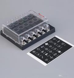 2019 12 way circuit car atc ato blade fuse box block holder 32v terminals from ordermix 13 14 dhgate com [ 1000 x 1000 Pixel ]