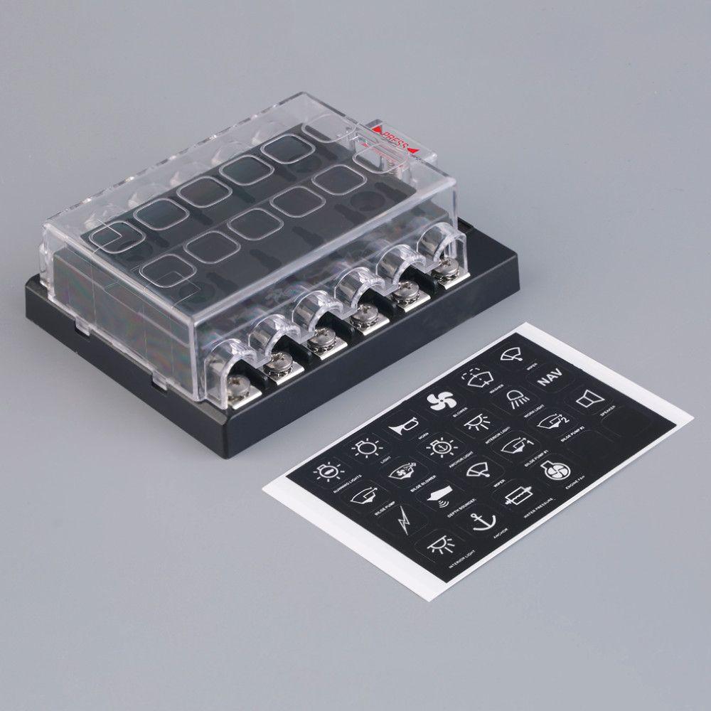 medium resolution of 2019 12 way circuit car atc ato blade fuse box block holder 32v terminals from ordermix 13 14 dhgate com