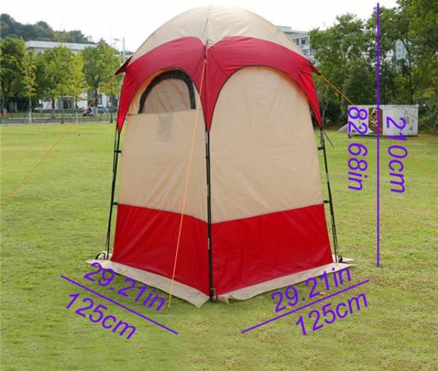 Portable Outdoor Camping Toilet Tent Uv Function Spray Tan Tent Movable Wc Bathroom Shower Dressing Privacy
