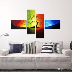 Modern Living Room Wall Art Small Chairs That Swivel 2019 Unstretched Decor Canvas Abstract Painting Custom Modular Pictures Print