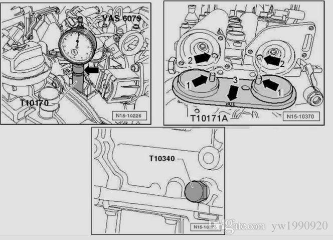 2019 Timing Tool Engine Chain For VW VOLVO AUDI POLO 1.4T
