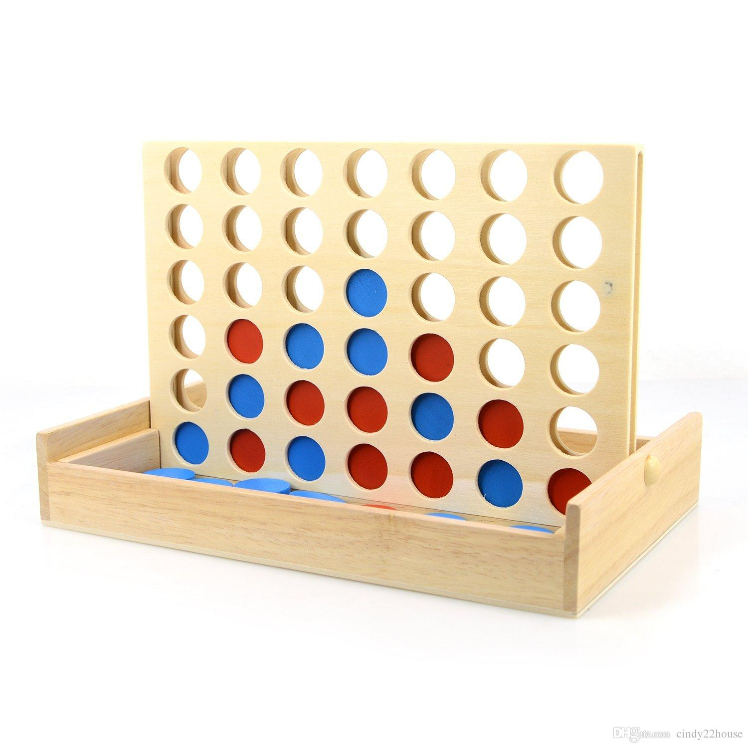 connect 4 wooden games