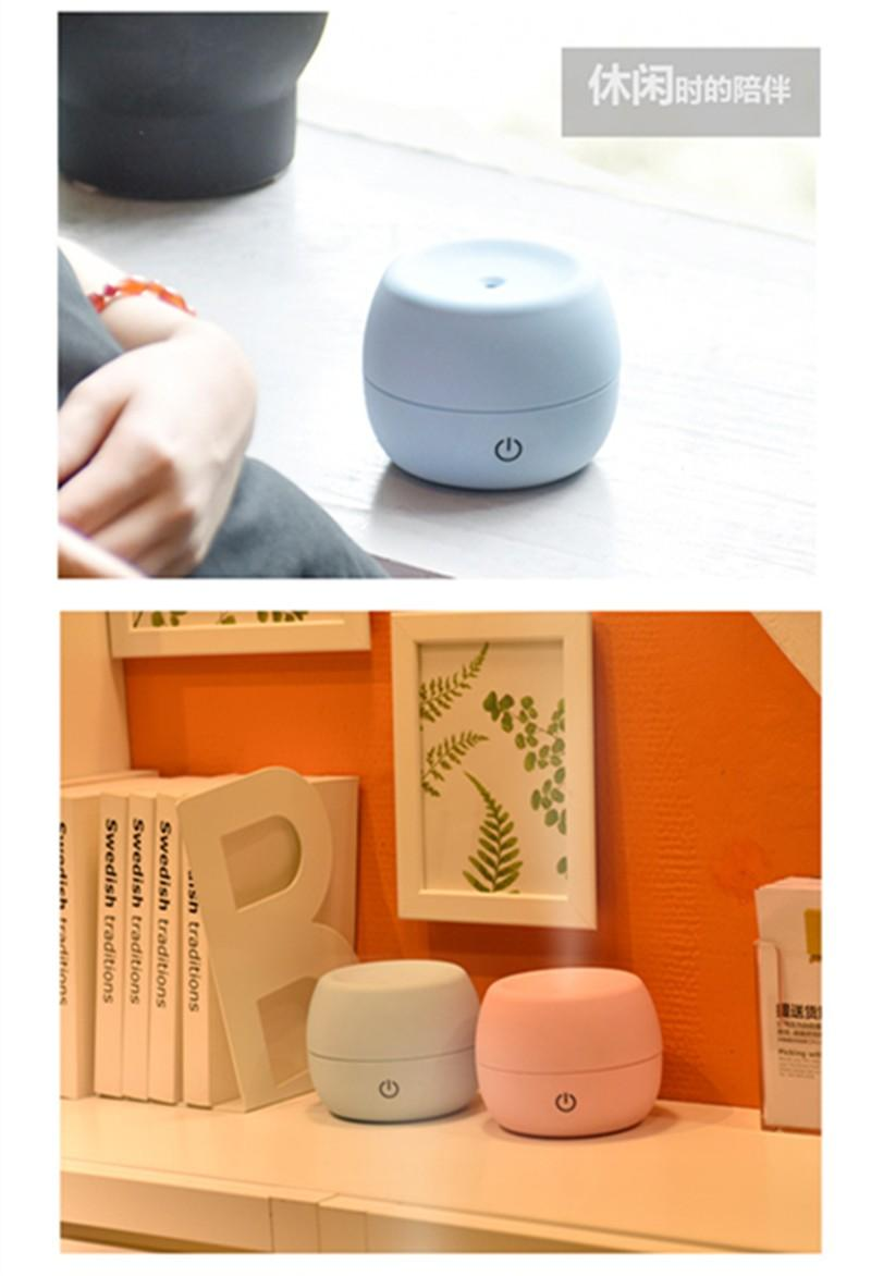 2019 Mini Essential Oil Diffuser Fan Aroma Diffuser Change Air Purifier USB Or Battery For Home