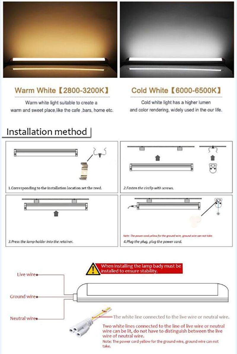 medium resolution of 2ft 3ft t5 led tube lights 4ft 22w led tubes smd 2835 led