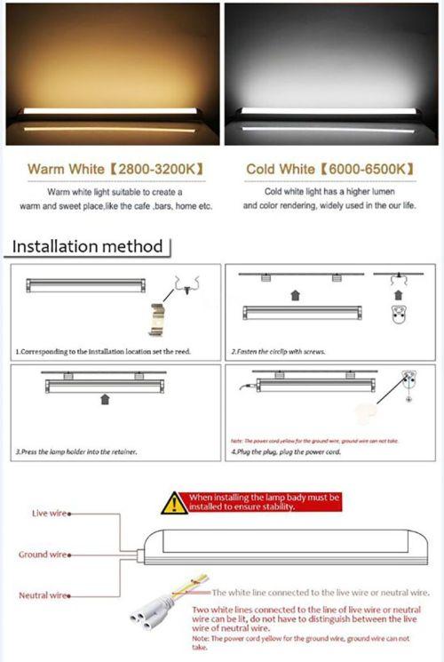 small resolution of 2ft 3ft t5 led tube lights 4ft 22w led tubes smd 2835 led