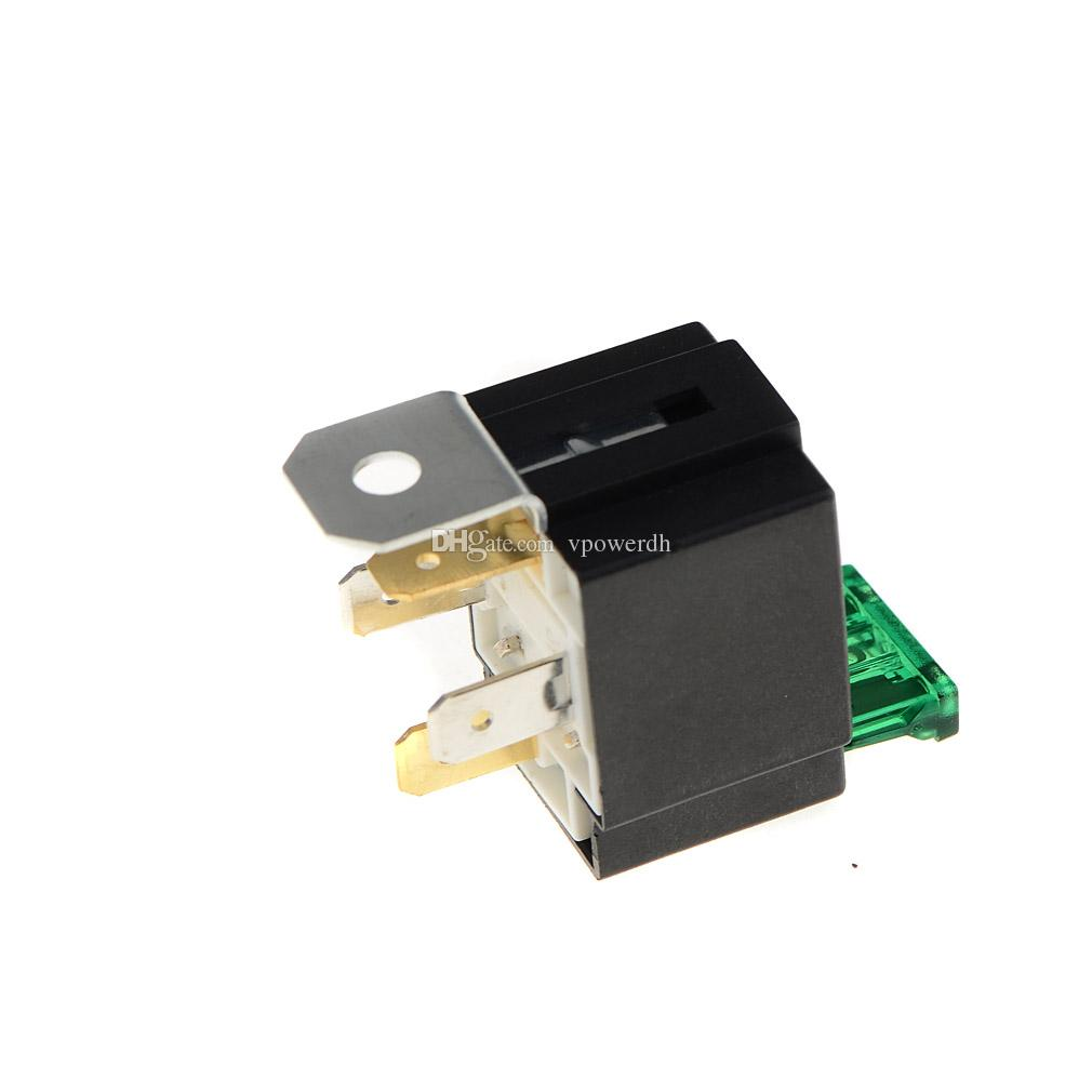 hight resolution of  30 amp 4 pin car fuse relay spotlamps spot fog light lamps base box holder m00052