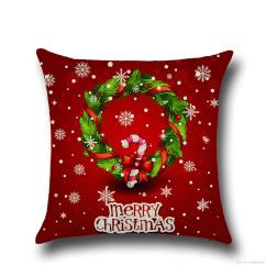 Christmas Chair Covers The Range Camping Folding Chairs Pillow Cushions Printed Merry Office Sofa Home Textiles Pillowcase Without Core