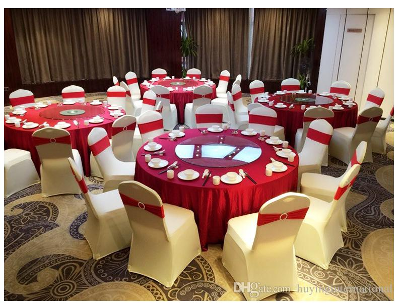 chair covers for weddings best camping wolesale hotel cover wedding pure color with thick white elastic high end