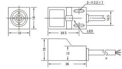Compre SN04N 4mm Sensor De Aproximação 3 Fios 6 30 V