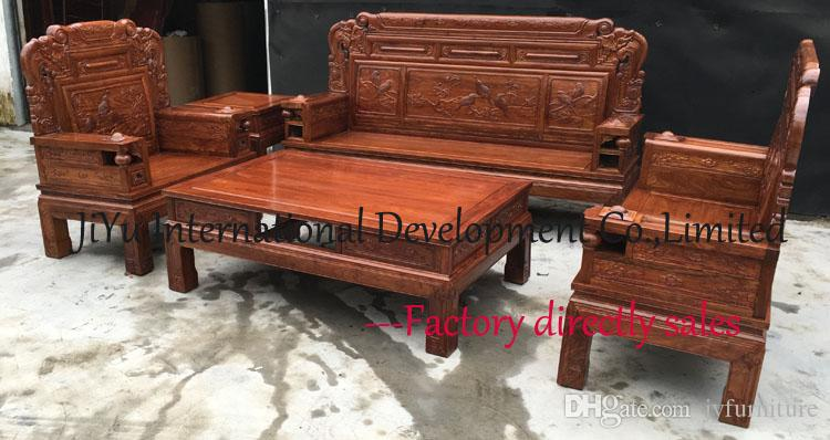 wood living room furniture ideas using grey paint luxury sofa sets 123 carving home 100 african rosewood chinese