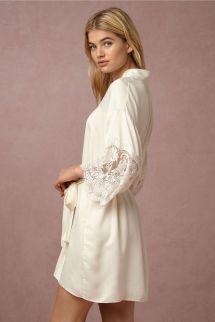 Stylish Long Sleeves Cheap Bridesmaid And Bride Robes