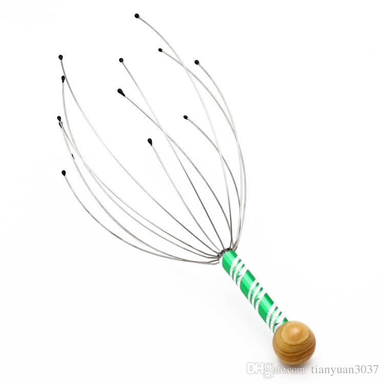 Wholesale Stainless Steel Manual Scalp Hand Head Massager