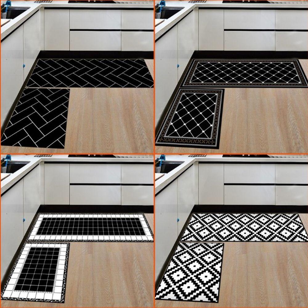 acheter tapis pour la maison et la cuisine tapis modernes tapis antiderapants tapis dentree pour tapis de chemin de roulement 15 7 23 6 pouces