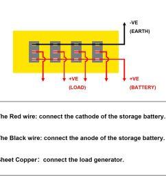 4 gang led rocker switch panel fuses circuit breaker for 12v car rv marine boat b00645  [ 1000 x 1000 Pixel ]