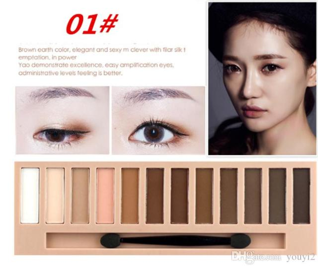 Eye Shadow Characteristic Apply To The Makeup Around The Eye With Color And Shadow Make The Stereo Feeling The Color Is Very Varied Eye Shadows