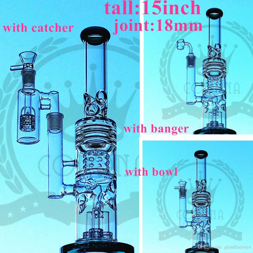 medium resolution of factory color glass bong beaker hitman water pipe zob ice catcher arms tree perc dab oil