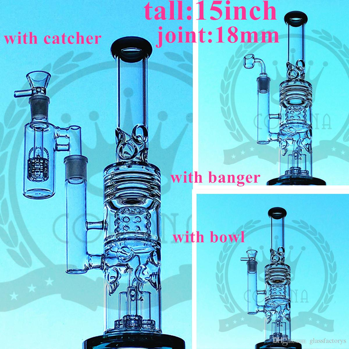 hight resolution of factory color glass bong beaker hitman water pipe zob ice catcher arms tree perc dab oil