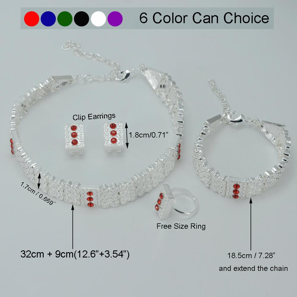 2019 Anniyo Silver Color Ethiopian Jewelry Sets Chokers