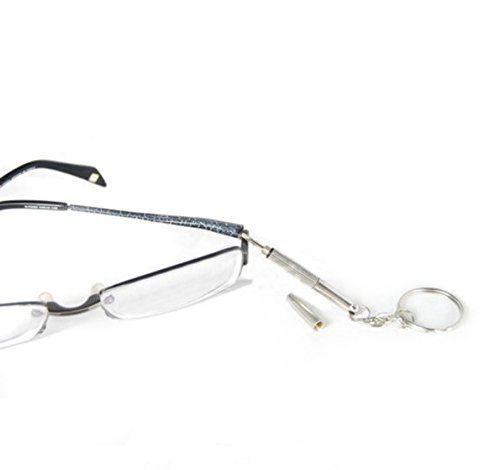 2020 Mini 3in1 Eyeglass Screwdriver Keychain Screwdriver