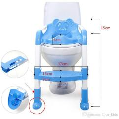 Potty Chair With Ladder Office Weight Capacity 500 Lbs 2019 Baby Seat Children Toliet Cover Kids Folding Training Portable