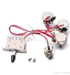 electric guitar wiring harness 5 way toggle switch 2 tone for electric guitar  [ 1000 x 1000 Pixel ]
