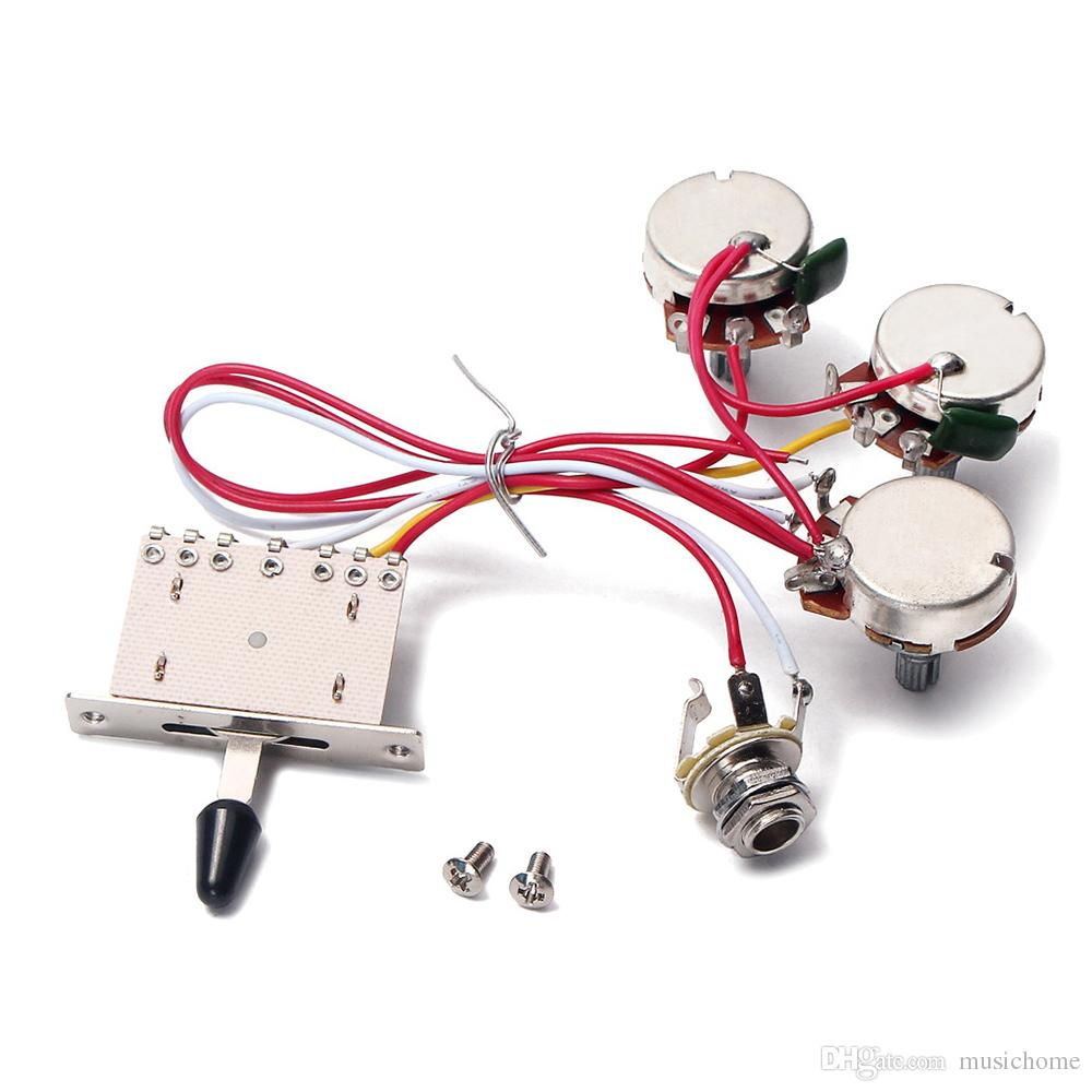 medium resolution of electric guitar wiring harness 5 way toggle switch 2 tone for electric guitar