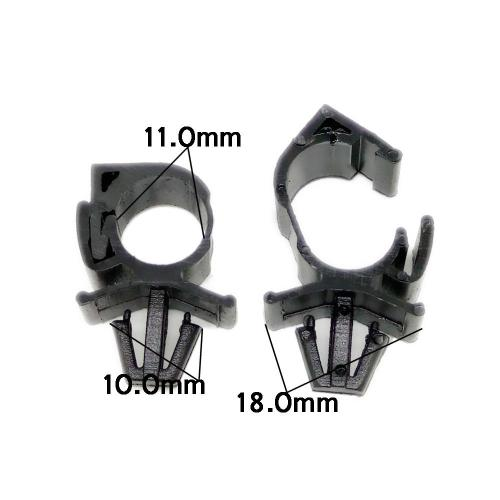 small resolution of 10x high quality car wiring harness fastener for all car auto route car wiring harness clamps