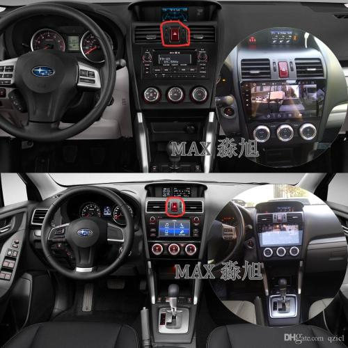 small resolution of android 6 0 car dvd player for subaru wrx forester 2014 2015 2016 with car radio bt