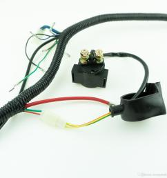 full wiring harness loom ignition coil cdi for 150cc 200cc 250cc 300cc zongshen lifan atv quad  [ 1500 x 1500 Pixel ]