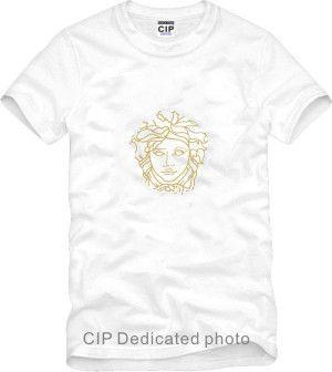 2019 2018 Brand Fashion Head Print Cotton Short Sleeve Hip