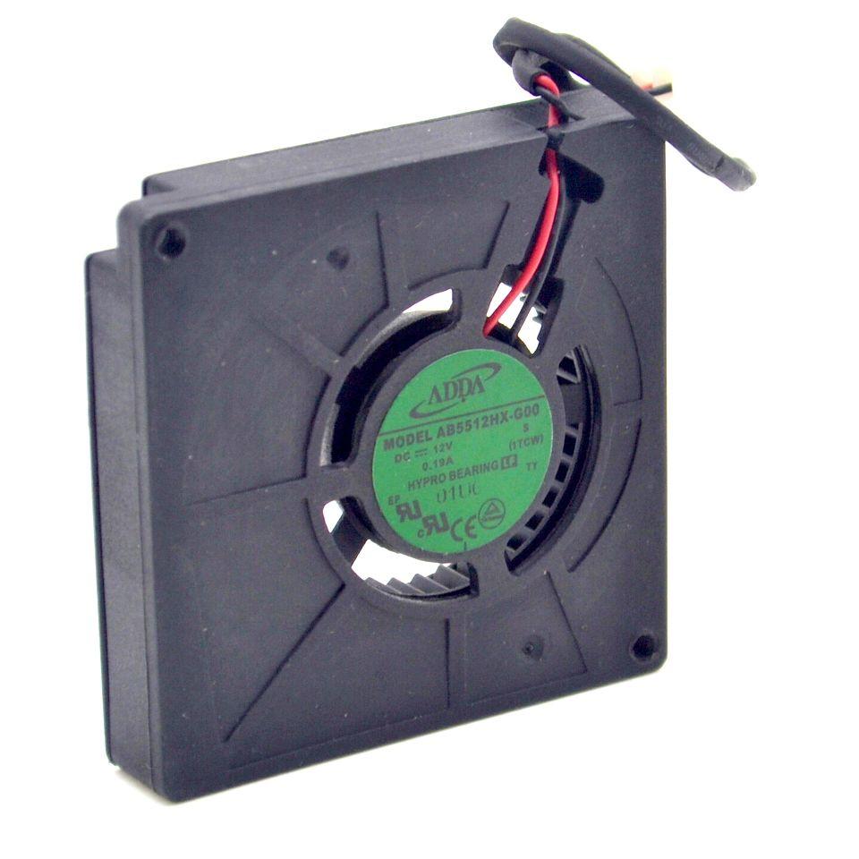medium resolution of dc 12v 0 19a new adda ab5512hx g00 dc12v 0 19a 2 wire server cooling server blower fan