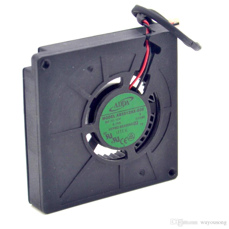 hight resolution of dc 12v 0 19a new adda ab5512hx g00 dc12v 0 19a 2 wire server cooling server blower fan