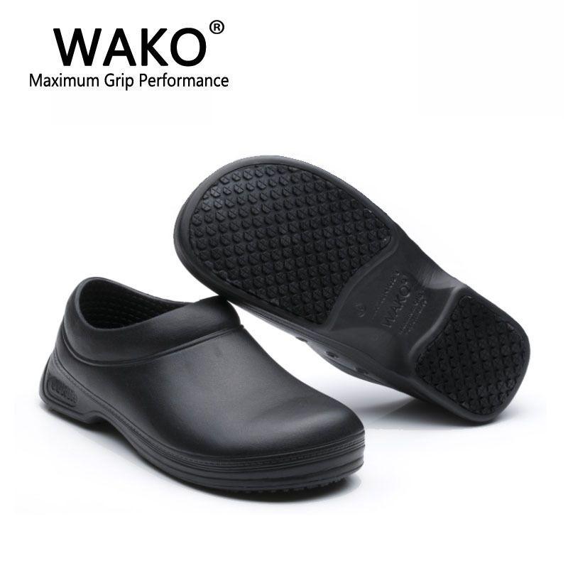 kitchen shoes womens wayfair cart 2019 9031 chef women men cook clogs safety antislip sandals black