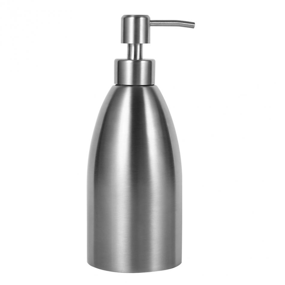 soap dispenser kitchen ventilator 2019 500ml stainless steel sink faucet bathroom shampoo box container deck mounted detergent