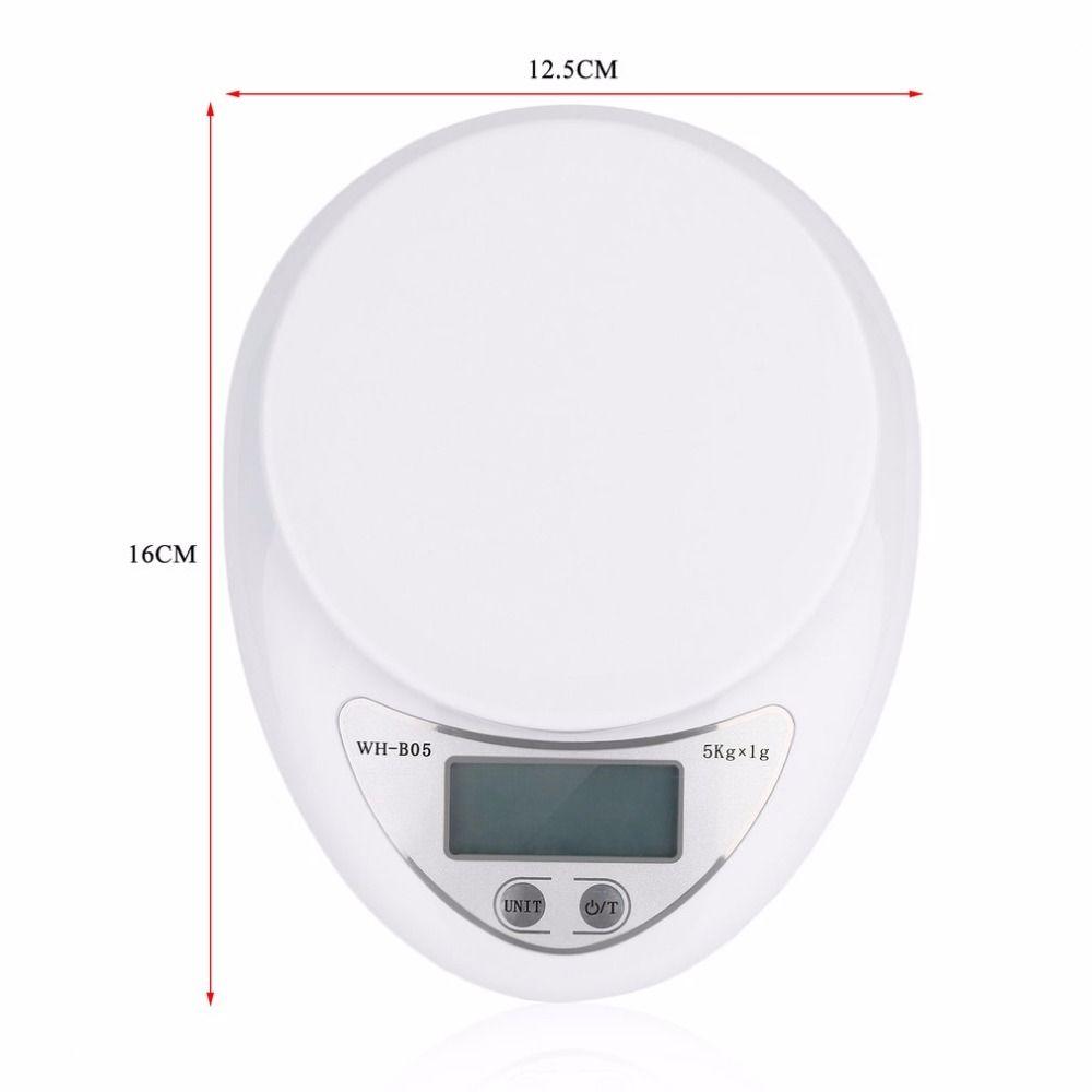 kitchen scales remodeling kansas city digital 5000g 1g 5kg food diet postal scale balance measuring weighing household