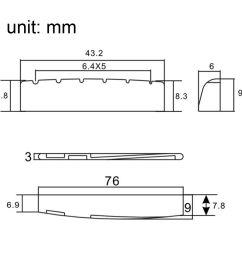 2019 6 sting acoustic guitar brass bridge pins 72mm saddle nut guitar neck adjustment diagram guitar saddle diagram [ 1000 x 1000 Pixel ]