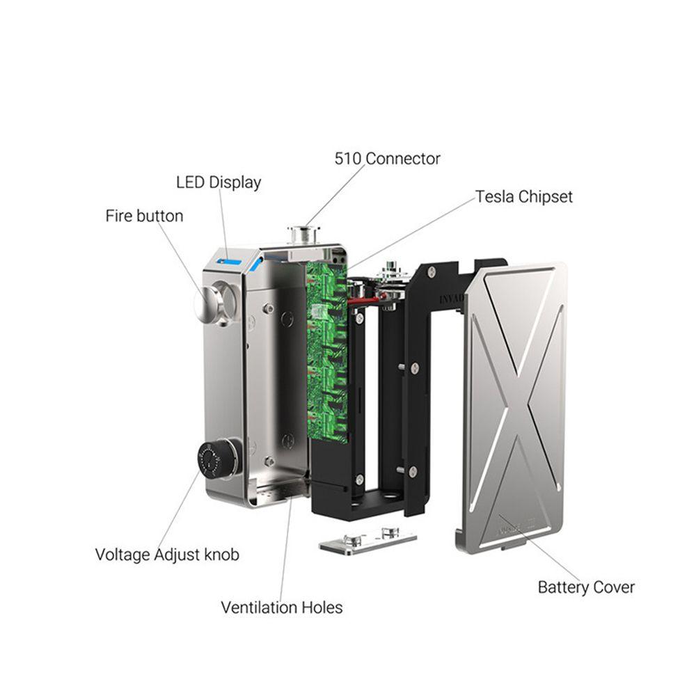 medium resolution of tesla invader iii 240w box mod 100 original invader 3 electronic cigarette