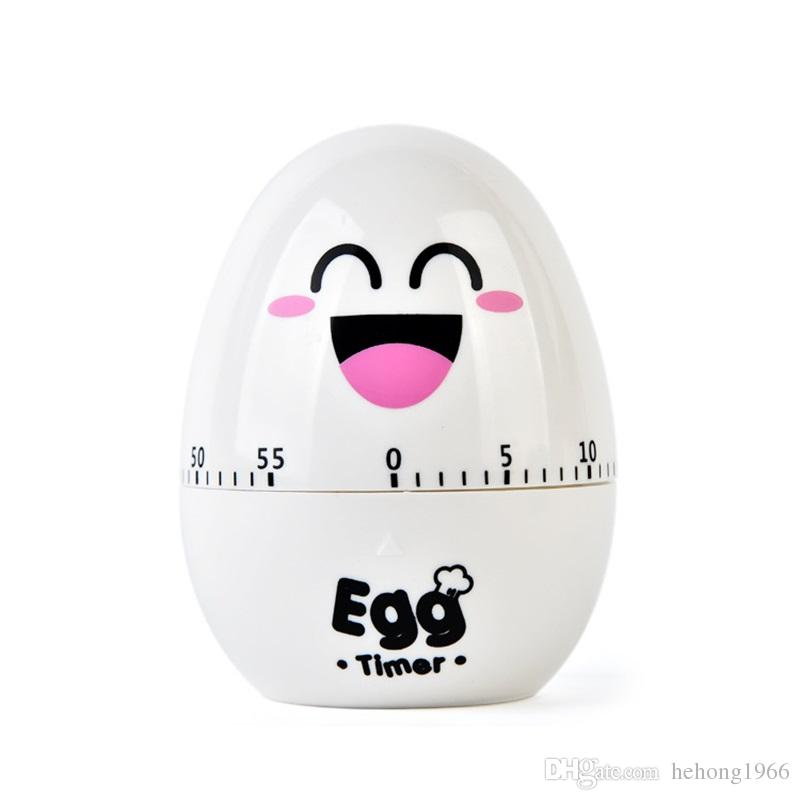 kitchen timers tops wood cartoon egg design creative super cute mechanical multi timing device for cook