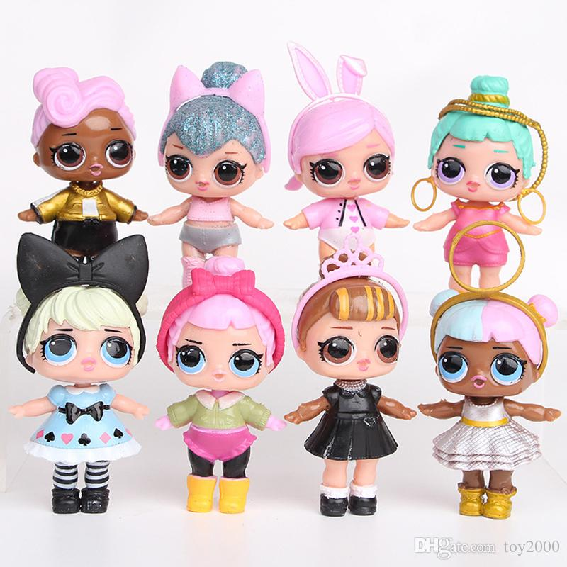 2020 9cm Lol Dolls With Feeding Bottle American Pvc Kawaii Children Toys Anime Action Figures Realistic Reborn Dolls For Girls Kids Toys From Toy2000 6 16 Dhgate Com