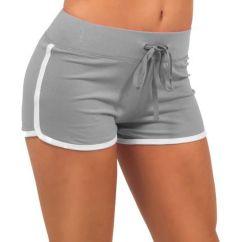 Short Gym Couleur Chair Posture Guidance Women Cotton Yoga Sports Shorts Leisure Homewear Fitness Pants Drawstring Summer Beach Running Exercise
