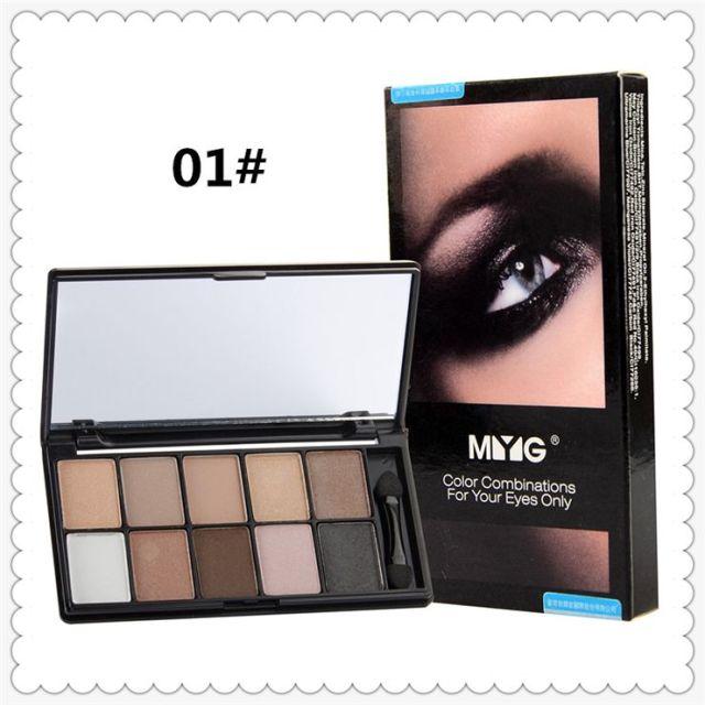Fashion Earth Color Eye Shadow Disk Pearl Eyeshadow Mermaid Eyeshadow Symphony Multicolor Eye Shadow Eye Shadow