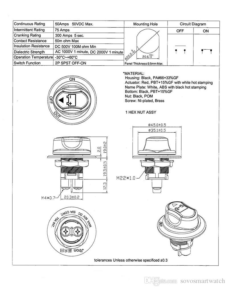 hight resolution of car mini battery selector car battery switch max 50v dc 50a cont 75a int car mini battery selector