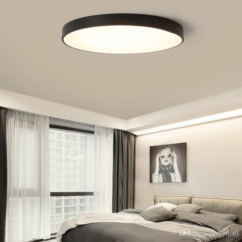 living room ceiling lights modern small chairs for the 2019 led light lamp lighting fixture bedroom kitchen surface mount flush ultra
