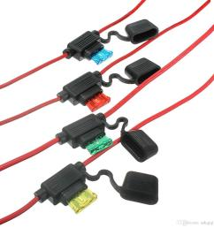 waterproof car auto 10 15 20 30a amp in line blade fuse holder  [ 1200 x 1200 Pixel ]