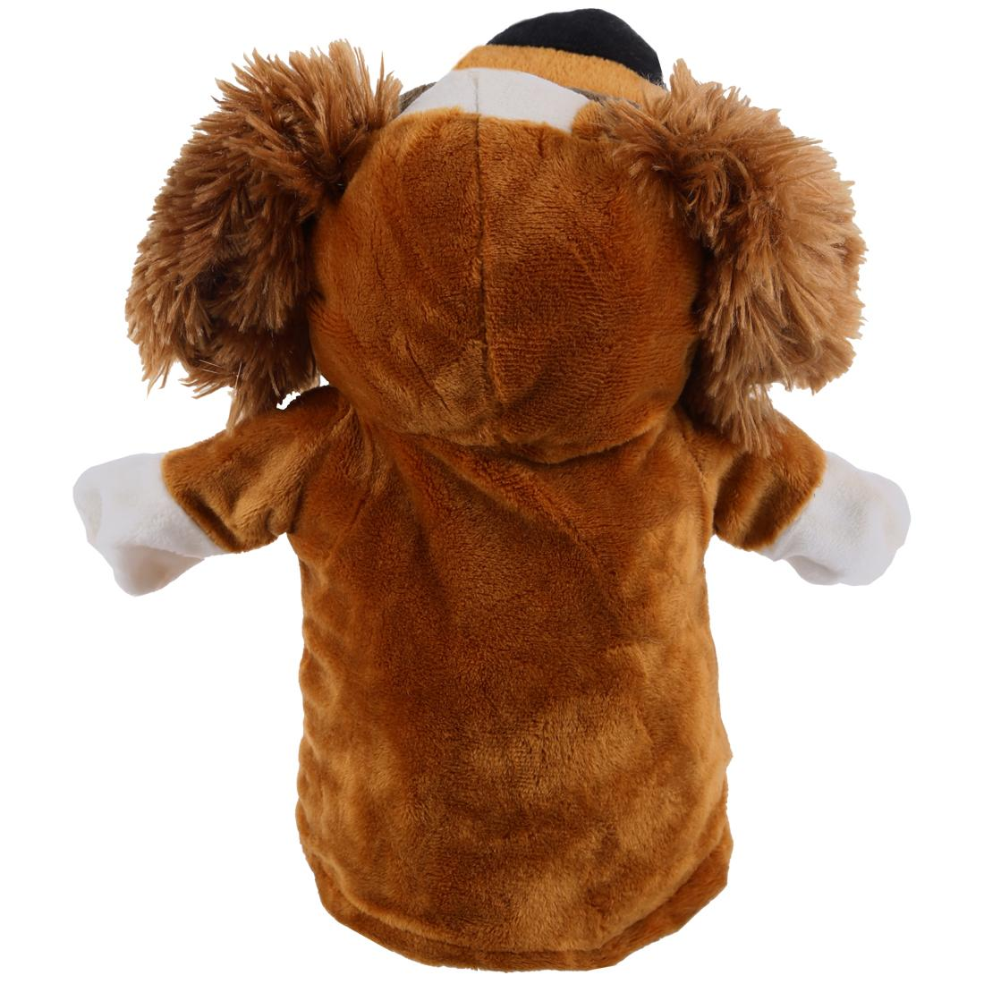 Cute Plush Velour Animals Hand Baby Chic Designs Kid Child