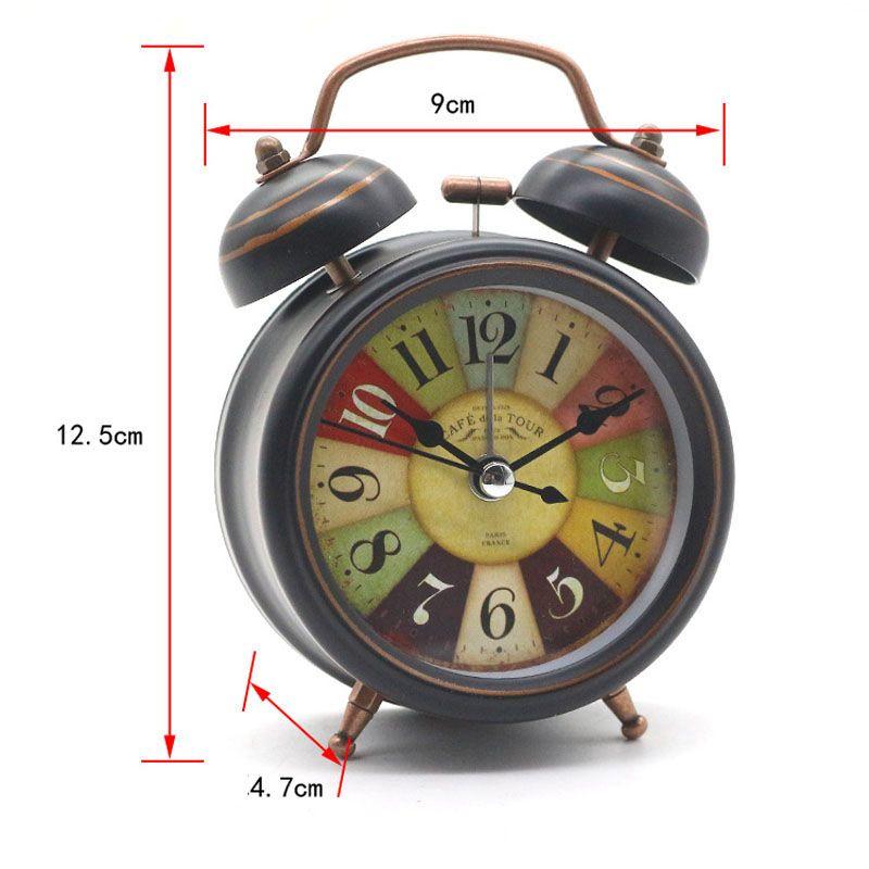 vintage alarm clock desktop