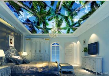 sky coco fantasy paper kitchen 3d murals clouds ceiling dhgate