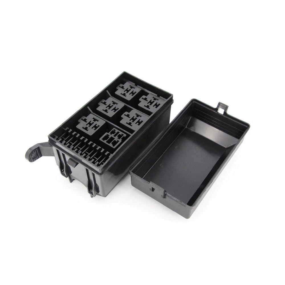 medium resolution of  6 ways auto fuse box assembly with 12v 4pin 40a 5pin 12v 40a relay auto