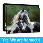 2020 Hd Print On Canvas Gypsy Horse Paintings Framed Wall Art Picture For Home And Office Decorations Ready To Hang From Diy Digital Painting 6 84 Dhgate Com