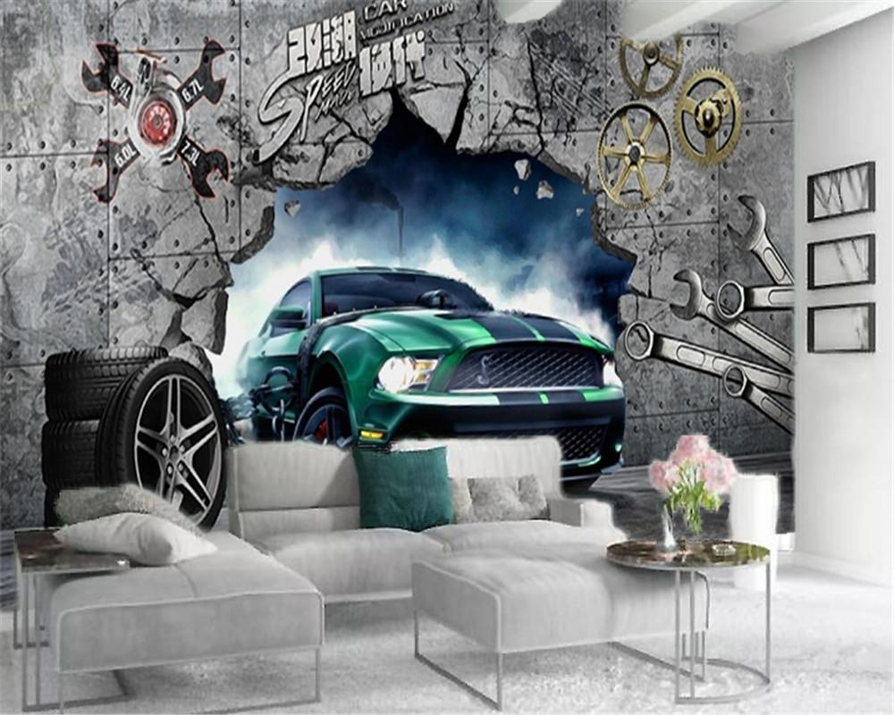 Give your home a bold look this year! Home Decor 3d Wallpaper Cool Luxury Car Coming Out Of The Wall Living Room Bedroom Tv Background Wall Wallpaper From Yunlin888 32 17 Dhgate Com